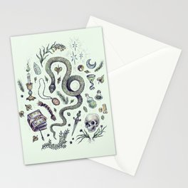 Slytherin, Those Cunning Folk Stationery Cards