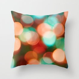 Abstract holiday background Throw Pillow