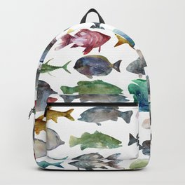 Color Fishes Backpack