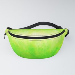 Yellow Green Lime Grass Fanny Pack