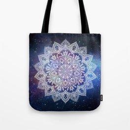 Boho Mandala - White on Galaxy Tote Bag
