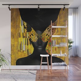 lady butterfly Wall Mural