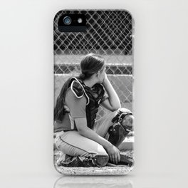 Catcher in Thought iPhone Case