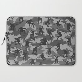 Skater Camo B&W Laptop Sleeve
