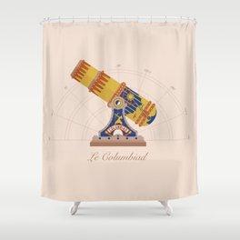 Le Columbiad Shower Curtain