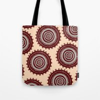 ethnic Tote Bags featuring Ethnic by Iris López