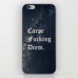Carpe Diem (Seize The Day) iPhone Skin