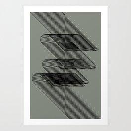 lines 2 Art Print