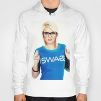 swag Hoodies featuring Swag by Taylor Brynne-Model