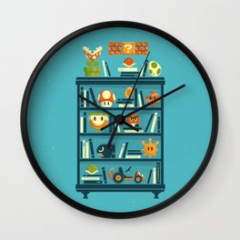 Mario Shelf Wall Clock