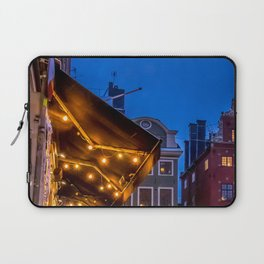 The Old Town Winter Night I Laptop Sleeve
