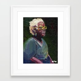 Gullah. Framed Art Print