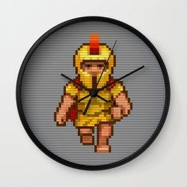 Pixel Legionary Wall Clock