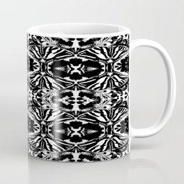 Zebra Butterfly Pattern Coffee Mug
