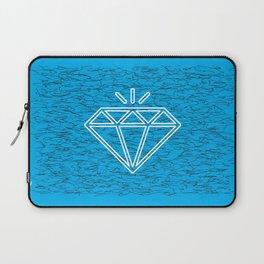 diamond cyan Laptop Sleeve