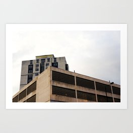 T' Grosvenor Hotel Art Print