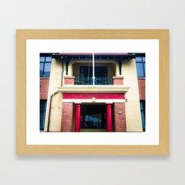 Eastbourne Village Building Framed Art Print