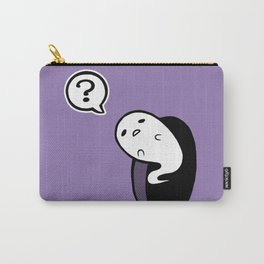 Curious Ghost Carry-All Pouch