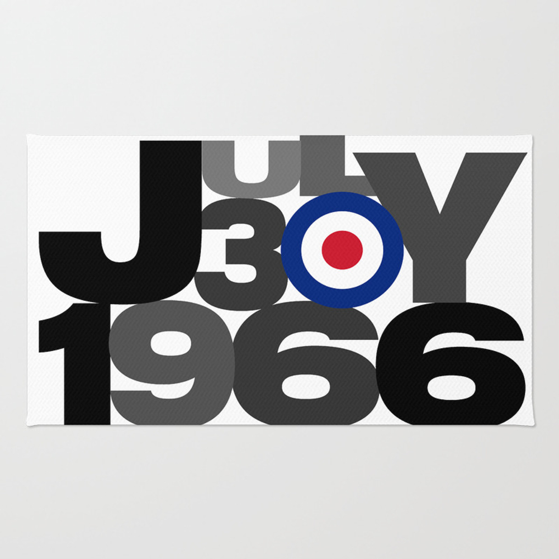 England World Cup Rug by Designerwils RUG8580370