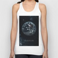 earth Tank Tops featuring EARTH  by Alexander Pohl