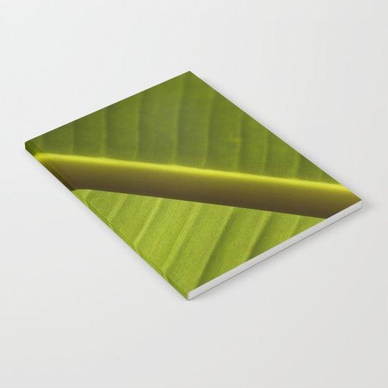 Banana Leaf Notebook