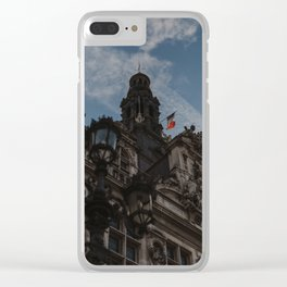 Hotel de Ville Paris Clear iPhone Case