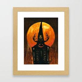 Autumn Acolyte Framed Art Print