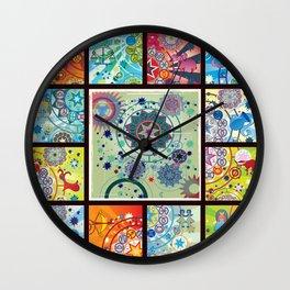 all zodiacs Wall Clock