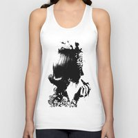 soldier Tank Tops featuring WOMAN SOLDIER by kravic