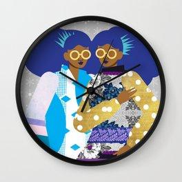 Winter Princesses Wall Clock
