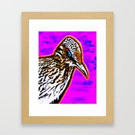 Pop Art Roadrunner No. 1 Framed Art Print