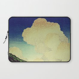 The Hike to Mt Harusan Laptop Sleeve