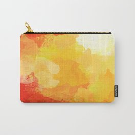 Colorful Abstract - red orange pattern Carry-All Pouch