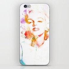 Marilyn Monroe Watercolor Pop Art33 iPhone & iPod Skin