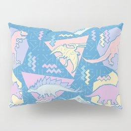 Nineties Dinosaurs Pattern  - Pastel version Pillow Sham