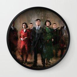 Shelby family Wall Clock