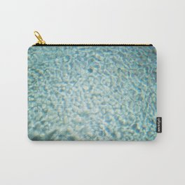 Poolside | Blue turquoise poolwater in the sun | Summer fine art photography print Carry-All Pouch