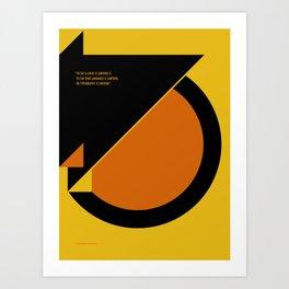 Unlimited Grid poster Art Print