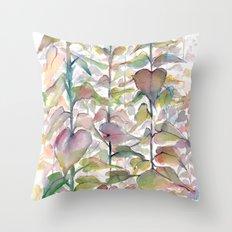Wild flowers II Throw Pillow