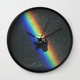 Rainbow & Tiny Tiny Camera Wall Clock