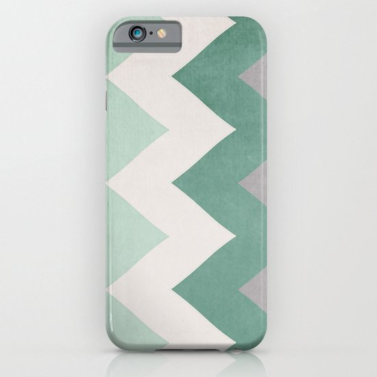 Wintergreen - Chevron iPhone & iPod Case