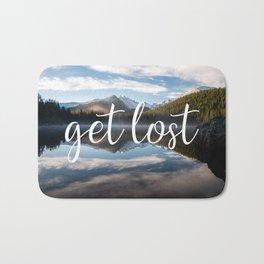 Get Lost - Colorado Landscape Bath Mat