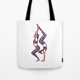 """Yoga Collection: """"Connected"""" Tote Bag"""