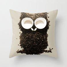 Hoot! Night Owl! Throw Pillow