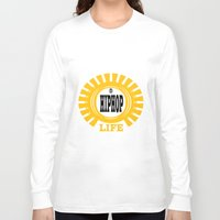 hiphop Long Sleeve T-shirts featuring HIPHOP by Robleedesigns