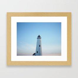Nantucket Lighthouse  Framed Art Print