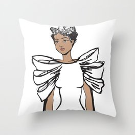I'm Hanna Royal Throw Pillow
