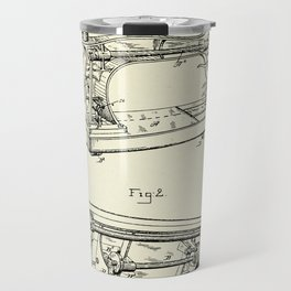 Sewing Machine-1885 Travel Mug
