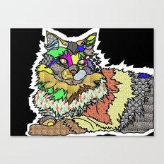 My Dead Cat Canvas Print
