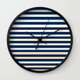 """Multi"" ( Stripe Collection ) Wall Clock"
